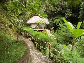 massage hut Bali