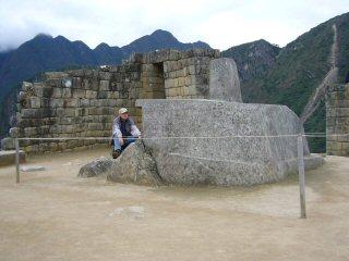 Sun Temple atop Machu Picchu