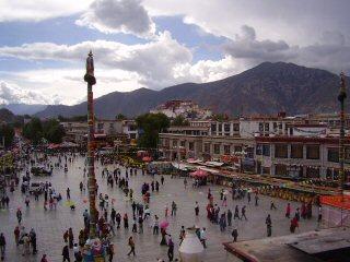 Barkhor Square Tibet