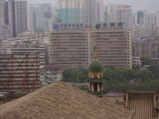 mosque in Lanzhou