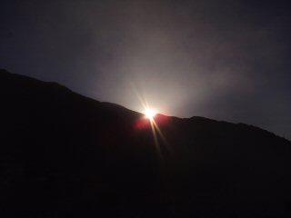 Sunrise over Lhasa