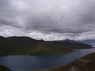 Yomdrok Lake Tibet